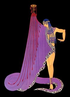 Erte Art Deco