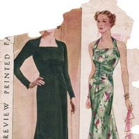 Vintage Sewing Patterns Wiki is a collaborative site dedicated to Vintage Sewing Patterns that anyone can edit. Browse vintage dress patterns and completed vintage sewing projects, explore amusing illustrations and ogle classic movie stars. You can search patterns available from our vintage pattern vendors as well.