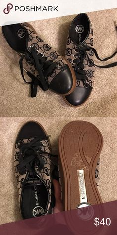 Michael Kors tennis shoes These shoes are super comfortable but I never wear them due to my job and other activities. Plus rather have more space in my closet. :) Make an offer Michael Kors Shoes Sneakers