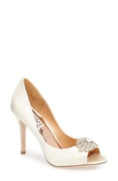 150bcf26c4b  Hollie  Badgley Mischka wedding shoes Badgley Mischka Shoes Wedding