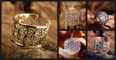 The flower of life is one of the most wonderful sacred geometry symbols. It brings the wearer a sense of unity and balance and connect them to the inner fountains of love in their heart.