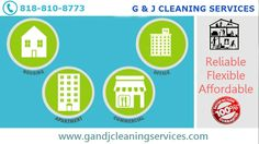 Leaving Your Business Spotlessly Clean  Want better Cleaning Service Providers? Welcome to G and J Cleaning Service. We offer the best in quality, professional service and affordable rates. As a reputable Los Angeles Commercial Cleaning service. For more info call: 818-810-8773 Visit: www.gandjcleaningservices.com