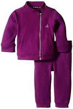 Calvin Klein Baby Girls' Purple Jacke…
