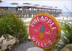 Pineapple Willy's in Panama City Beach FL