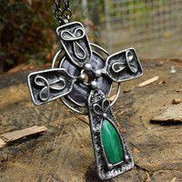 Keltský kříž - amulet