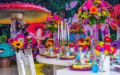 Photo from Alice In Wonderland Theme Baby Shower