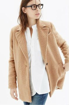 Camel Coat, can't believe I passed one up at the thrift