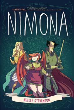 I'm just starting to venture into the realm of graphic novels so I don't know too much about them or which ones are popular, but I had to pick up Nimona because of the countless good things I'd heard about it (and the giant National Book Award Nominee sticker on the cover). I ended up …