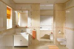 Płytki łazienkowe - Yasmina Hiacynt