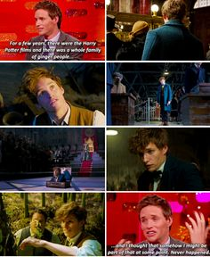 Eddie Redmayne - Fantastic Beasts - This world, it's been a wonder really - it's just unlike anything I've ever been a part of.