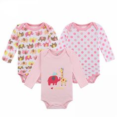 Cotton Baby Bodysuit Autumn Newborn Cotton Body Baby Long Sleeve Underwear Next Infant Boy Girl Pajamas Clothes - Kid Shop Global - Kids & Baby Shop Online - baby & kids clothing, toys for baby & kid Pajama Outfits, Toddler Outfits, Baby Boy Outfits, Kids Outfits, Long Romper, Long Sleeve Bodysuit, Pyjamas, Baby Shop Online, Girls Pajamas