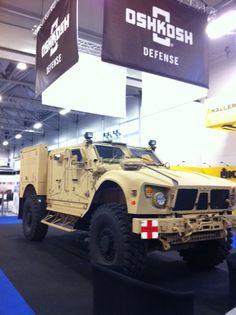 Oshkosh  M-ATV (Ambulance variant)