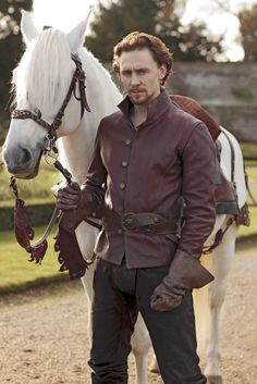 A gorgeous horse, great costuming, and, oh, Tom Hiddleston. (Prince Hal, Henry IV, The Hollow Crown)