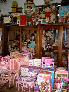 Meu acervo de Bonecas e Brinquedos antigos