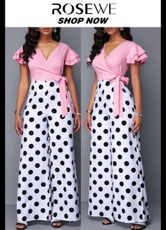 jumpsuits For Women Trendy Dresses, Women's Fashion Dresses, Chiffon Dresses With Sleeves, African Dresses For Kids, Jumpsuit Pattern, Latest Dress, Skirt Outfits, Jumpsuits For Women, Womens Fashion