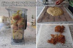 Wenn du viele Früchte übrig hast, probier sie doch mal zu trocknen und dadurch länger frisch zu halten