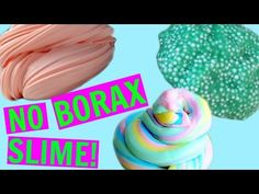 how to make slime without borax or contact lens solution