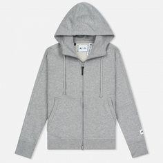 8094ff31 Женская толстовка adidas Originals x Reigning Champ AARC FTFZ Hoodie Medium  Grey Heather Adidas Originals