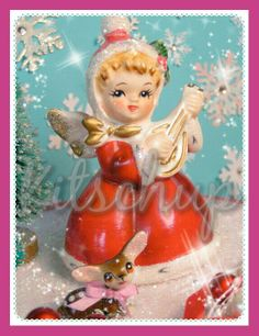 Christmas prayer candle from Kitschup Creations