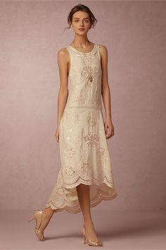 BHLDN Cora Dress in  Bride Reception Dresses at BHLDN