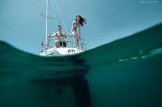 #Underwater #happy #justmarried #portrait #lovestory #youngandbeautiful #carribian