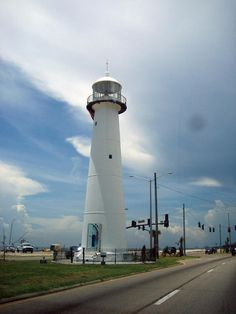 Lighthouse in Biloxi, MS, my first trip with my husband in 1984