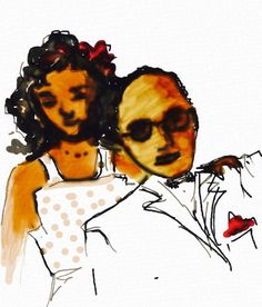 Jazz Duo byDorothy Laing on iPad using Auryn Ink