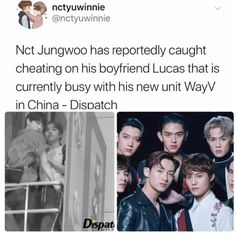 Lucas and the WayV unit look equally mad about it too😂 Funny Kpop Memes, Kid Memes, Nct Life, Kpop Groups, Jaehyun, Nct Dream, Nct 127, Funny Pictures, Jokes