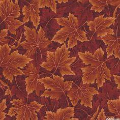 Nature's Tonal - Maple Leaf Drift - Rust