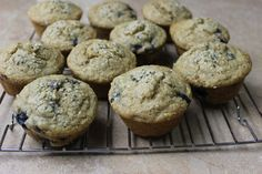 Blueberry Banana Hemp Muffins  Gluten Free