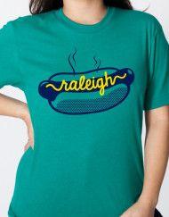 hot-dog-shirt-green