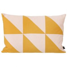 coussin twin triangle ferm living curry