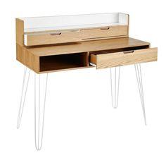 3-Drawer Desk   Maisons du Monde