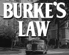 Burke's Law 1963 ~ A detective series; stared Gene Barry as Amos Burke...millionaire captain of Los Angeles Homicide Division.