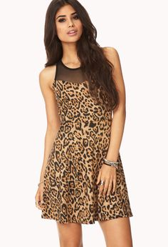 Spot-On Fit & Flare Dress | FOREVER21 - 2000129467