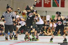 Even the Rose City jammer is amazed! haha
