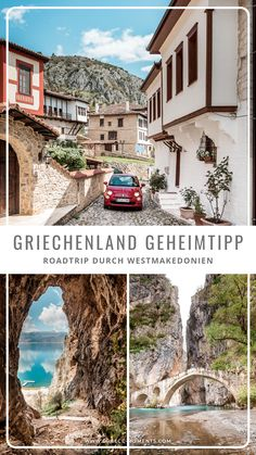 Northern Greece round trip: Our highlights of the region of West Macedonia ☀ We present you the most Portugal Vacation, Greece Vacation, Greece Travel, Camping Holiday, Holiday Travel, Macedonia, Places To Travel, Places To Go, Greece Holiday