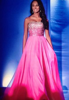 National All-American Miss Teen 2013-2014 Evening Gown: HIT or MISS?