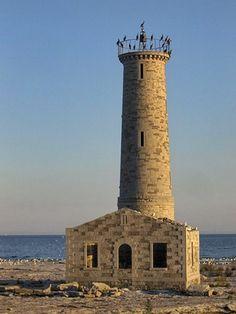 Mohawk Island Lighthouse, Ontario Canada at Lighthousefriends.com ..rh