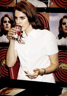 I'm sure her Pepsi Cola taste great.