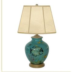 "JB Hirsch Sea Life 26"" Table Lamp"