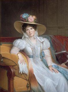 Portrait de madame Casimir Périer, née Pauline Loyer  -  Louis Hersent