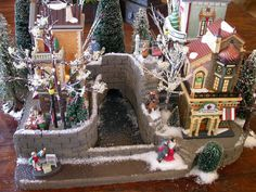 25 Christmas Traditions And Activities For Kids Christmas Abbott, Christmas In The City, Christmas Village Houses, Christmas Village Display, Christmas Villages, Christmas Books, Christmas Crafts For Kids, Christmas Traditions, Christmas Home