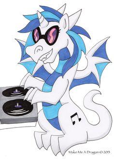DJ Dragon Vinyl Scratch