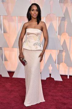 Oscars 2015 Red Carpet Arrivals   Kerry Washington