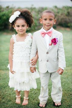 adorable little pair Wedding Trends, Wedding Styles, Wedding Ideas, Wedding Stuff, African American Weddings, Wedding With Kids, Cute Outfits For Kids, Bridal Flowers, Flower Girl Dresses