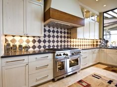 Kitchen Backsplash Latest Trends show me your backsplash with dark stone counters - kitchens forum
