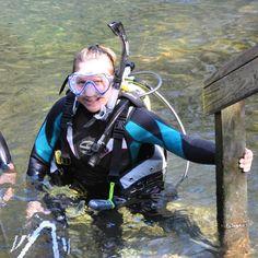 Debi Diving Springs in Florida