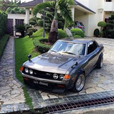 Vintage Sports Cars, Japanese Cars, Jdm Cars, Toyota Celica, Cars And Motorcycles, Old School, Classic Cars, Vans, Vehicles