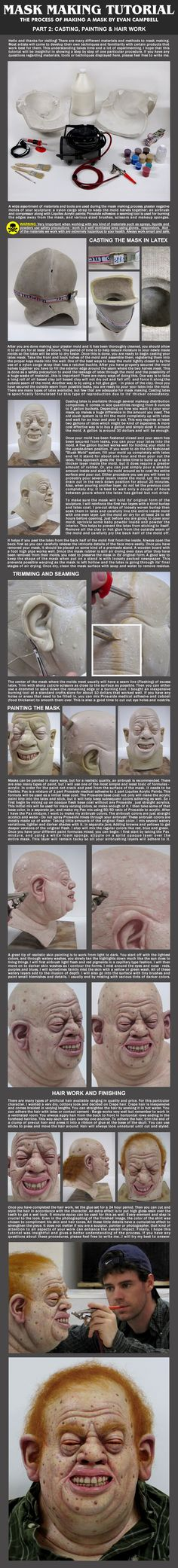 Mask Making Tutorial: Part 2 by EvanCampbell on deviantART